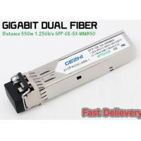 Quality 1.25G 850nm Fp 550m Lc Mmf Small Form Factor Pluggable Transceiver Fcc Compliant Sfp wholesale