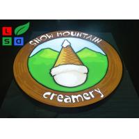 Quality Single Sided LED Outdoor Light Box 35W Power Logo Printed For Wall Mounted wholesale