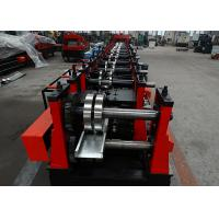 Quality Automatic Adjustable C Purlin Forming Machine Pre - Cutting Type CE Certificated wholesale