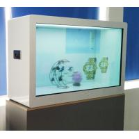 Quality Capacitor Touch 55 Inch Transparent Showcase , ROHS LCD Transparent Display wholesale