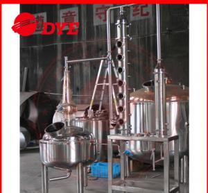 Quality 5BBL Custom Steam Distillation Apparatus , Ethanol Distillation Column wholesale