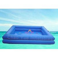 Quality Blue color 7 x 6 meter PVC tarpaulin Swimming Inflatable Water Pools for zorb ball wholesale