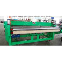 Quality Hige Speed Automatic Carpet Cutting Machine , Non Woven Fabric Cutter Frequency Control wholesale