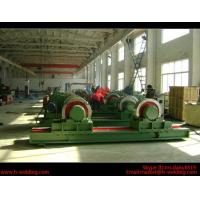 Quality 5 Ton Bolt Adjustable Steel Tank Welding Pipe Roller Rotator , Cylinder  Turning Roll Machine wholesale