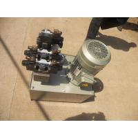 China hydraulic pump power pack unit with motor valve gauge filter on sale