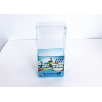 China 0.3mm Thickness Clear PVC Cosmetic Packaging Boxes  For Soup on sale