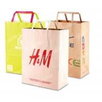 Buy cheap flat handle paper bags from wholesalers