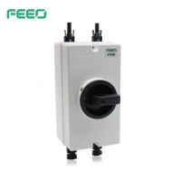 China DIN Rail Mounted 1500V 25A DC Solar Isolator Switch on sale