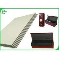 China Grade AAA High Stiffness Grey Board Sheets 1.3mm 1.35mm 1.5mm For Boxes on sale