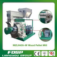 China CE certificated 1T/H MZLH420 wood chips pellet press& Biomass Pellet Mill on sale