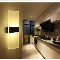 Quality Square Acrylic LED wall lighting /inside led wall lamps for bedroom or sitting room wholesale