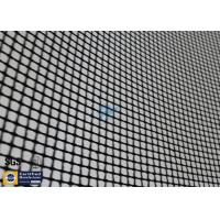 Quality PTFE Coated Fiberglass Mesh Fabric Black 4X4MM 580G Textile Dryer Conveyor Belt wholesale