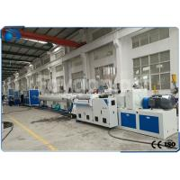 Quality 50~160mm PVC Pipe Extrusion Machine / UPVC Extrusion Machinery Double Screw wholesale
