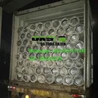 Quality Low carbon steel galvanzied wire wrapped Johnson screens for well drilling wholesale