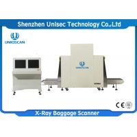 Quality High Resolution X Ray Baggage Scanner / X Ray Security Inspection Dual Energy wholesale