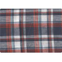 "Quality Professional Decorative Plaid Linen Upholstery Fabric 57"" / 58"" Width wholesale"