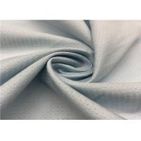 Quality Grey Color Hole Pattern Breathable Outdoor Fabric 100D +100D * 100D + 100D Yarn Count wholesale