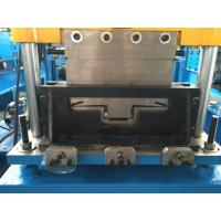 Durable Steel Stud Roll Forming Machine 5.5kw With Film System 15 Stations