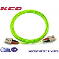 Quality SC OM5 100G Duplex Simplex Fiber Optic Patch Cord PVC/LSZH Cover Long Lifespan wholesale