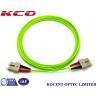 Buy cheap SC OM5 100G Duplex Simplex Fiber Optic Patch Cord PVC/LSZH Cover Long Lifespan from wholesalers