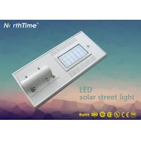 Quality Photovoltaic System Solar Powered Road Lights , Energy Efficient Led Street Light wholesale