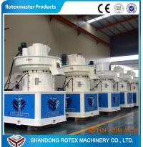 Quality Palm Shell Biomass Ring Die Pellet Mill Machine Sawdust Pellet Line wholesale