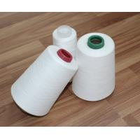 Quality 100% Virgin Fiber 30s/2 Spun Polyester Yarn Raw White Bright For Sewing Thread wholesale