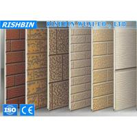 Quality Wall Cladding External Wall PU Sandwich Panel Roll Forming Products wholesale