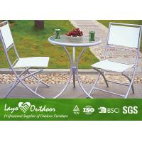 China Garden Patio Table And Chairs Patio Outdoor Furniture No Hazardous Gas Radiation on sale