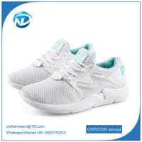 China new design shoes comfortable soft breathable women running sports flying shoes on sale