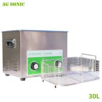 Quality Electronics Industrial Ultrasonic Cleaner 30L for Computer Monitor Keyboards Cleaning 40khz wholesale
