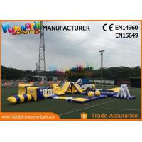Quality Anti - UV Giant Aquapark Inflatable Water Parks For Kids And Adults wholesale