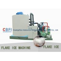 China Customized 10 Tons Flake Ice Machine CBFI Compressor R22 Refrigerant on sale