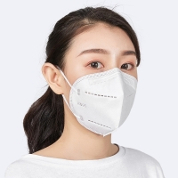 Quality KN95 GB2626 Non Woven 4 Layer Disposable Face Mask With Earloop wholesale