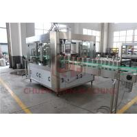 Quality Counter Pressure Juice Beverage Filling Line Commercial Beer Canning Equipment wholesale