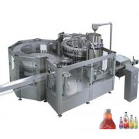 China Stainless Steel Fresh Fruit Juice Production Line 8 - 40 Head 12000 BPH For Ice Cream on sale