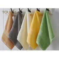 Quality Embroidery Logo Hotel Face Towel Bright Color100% Cotton Face Flannels wholesale