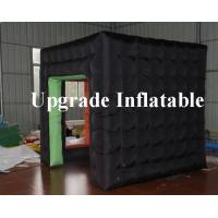 Quality durable advertising cube black inflatable photo booth tent for sale wholesale