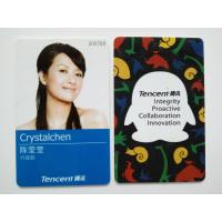 Quality Tencent Custom Photo ID Cards with Electrical IC Card Function wholesale
