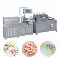 Quality Automatic Multi Cutter Colorful Paper Drinking Straw Tube Pipe Making Machine wholesale
