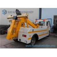 China ISUZU Wrecker Tow Truck heavy duty 7000 Kg Max Designed Towing Weight on sale
