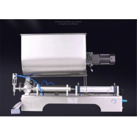 Quality Granules 80L Sauce Pouch Filling Machine Paste With Mixing Hopper wholesale