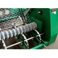 China High Efficiency Fully - Auto Wire Mesh Machine , Chain Link Fence Making Machine on sale