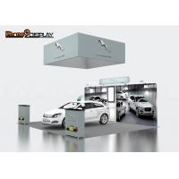 China Easy Fair Stand 20x20 Trade Show Booth , Aluminum Profile Exhibition Booth Set Up on sale