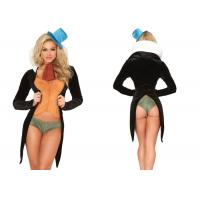 Quality Five Piece Sexy Women Halloween Costumes ,  Charming Cricket Ladies Halloween Costumes wholesale