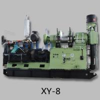 China Deep coring drilling rig XY-8, water bore well drilling rig on sale