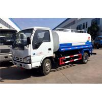 Quality ISUZU EURO 4 120HP Water Bowser Truck Q235 Carbon Steel 5000 Liters wholesale
