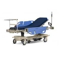 Quality Long Life Hospital Patient Emergency Stretcher Trolley Blue / Orange Color wholesale
