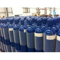 Cheap 25L - 52L Seamless Steel Compresses Gas Cylinder For High Purity Gas ISO9809-1 for sale