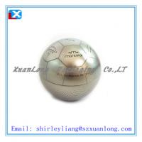 Quality ball shaped gift tin box for food packaging wholesale